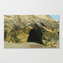 Laguna Beach Cave Canvas Print