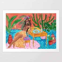Living my best life - Frida collection - Art Print