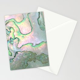 Shell Texture Stationery Cards