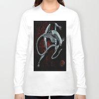 xenomorph Long Sleeve T-shirts featuring Darrell Merrill Nerd Artist Xenomorph by Nerd Artist DM