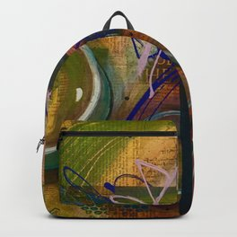 Abstract bubbles hidden secret message uplifting  Backpack