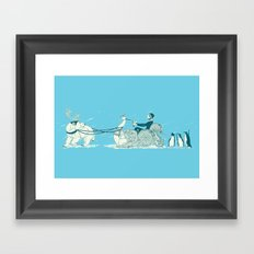Snow Queen Framed Art Print