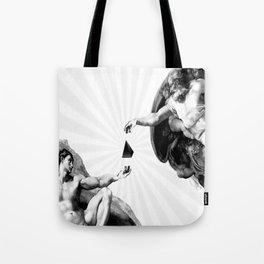 God give Secrets to Man Tote Bag