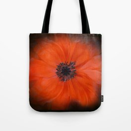 Poppy Square Tote Bag