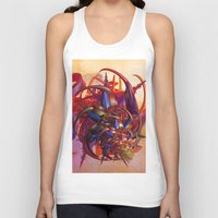 sci fi Tank Tops featuring Sci-fi insect by Gaspar Avila