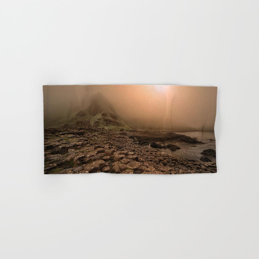 When The Sun Is Going Down Hand Towel by Jaroslawblaminsky BTL8102307