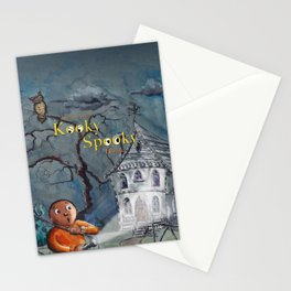 Marvin in the Kooky Spooky House Stationery Cards