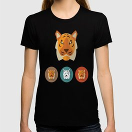 Tiger Illustration T-shirt