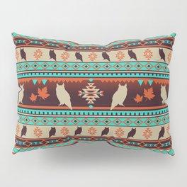 Boho animals | Autumn owl sunset Pillow Sham