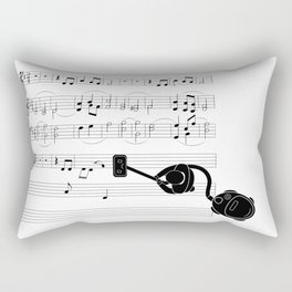 Vacuum sound Rectangular Pillow