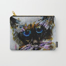 Old Cat Carry-All Pouch