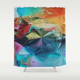 Fan Fare Vision Shower Curtain
