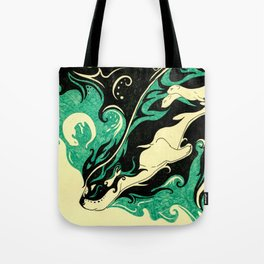 Dreaming Otter Tote Bag