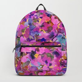 Pink Rainbow Garden Backpack