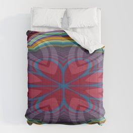 Uppermost Consumerism Mandala 1 Comforters