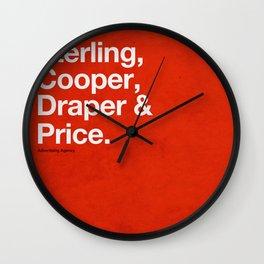 Mad Men   Sterling, Cooper, Draper & Price Wall Clock