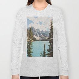 Moraine Lake II Banff National Park Long Sleeve T-shirt