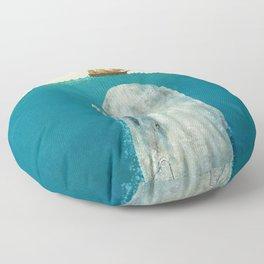 The Whale - colour option Floor Pillow