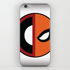 Wilson VS Wilson (Deadpool Deathstroke) iPhone & iPod Skin