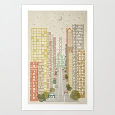 California Street Art Print