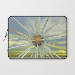 Mechano daisy Laptop Sleeve