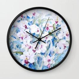 Cymbidiums Wall Clock