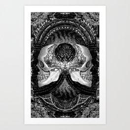 3:33 - Bicameral Brain 02 Art Print