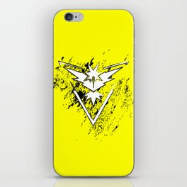 Team Yellow iPhone Skin
