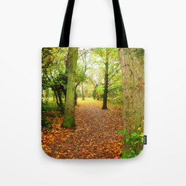 Leaves Lead The Way Tote Bag