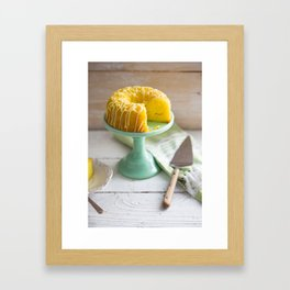 Celebration Cake Framed Art Print