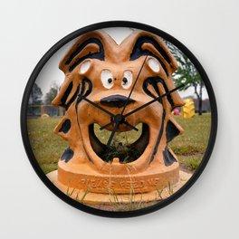 The Cowardly Lion, Bernstein Park, Monroe, LA. Wall Clock