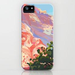 Utah Afternoon iPhone Case