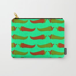 Feed Me- Taco Pattern Carry-All Pouch