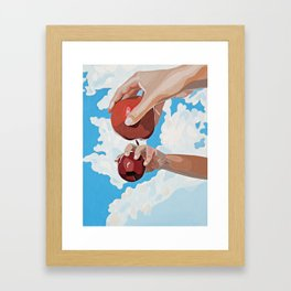 Mirror Image Framed Art Print