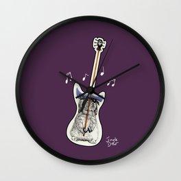 That's not a guitar Wall Clock