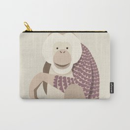 Whimsical Orang Utan Carry-All Pouch