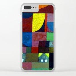 Paul Klee Villa Marionette Clear iPhone Case
