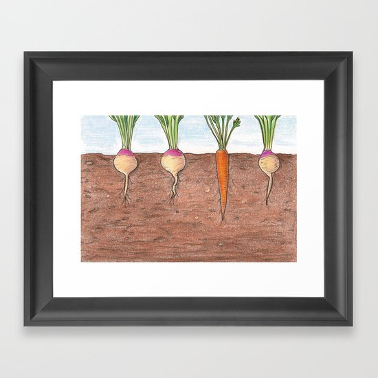 Subterranean Framed Art Print