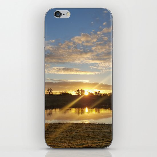 Inbetween Country and Paradise iPhone Skin