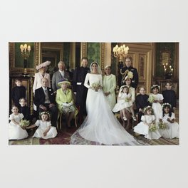 Prince Harry and Meghan Markle Royal Wedding Rug