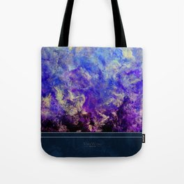 Lilac Sunset - Original Abstract Art by Vinn Wong Tote Bag