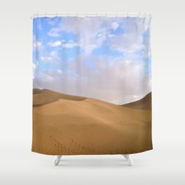 desert photography Shower Curtain