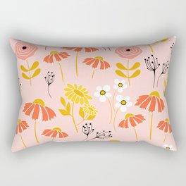 Marguerite Daisy Rectangular Pillow