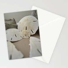 sand dollars Stationery Cards