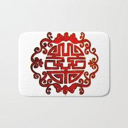 Chinese Stamp Bath Mat