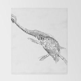 Bones - Plesiosaur Throw Blanket