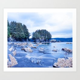 Spring Beach Photography Print Art Print