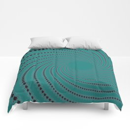 Zoned Out - Fractal Art Comforters