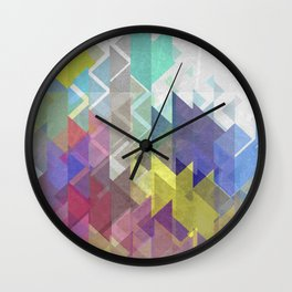 Lovely Triangle No. 2 Wall Clock