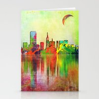 san francisco Stationery Cards featuring san francisco by mark ashkenazi
